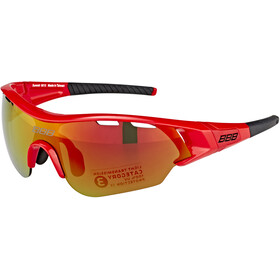 BBB Summit BSG-50 Lunettes de sport, gloss red